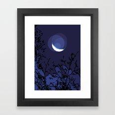 True Moonlight Framed Art Print