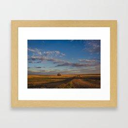 Grain Elevator 17 Framed Art Print