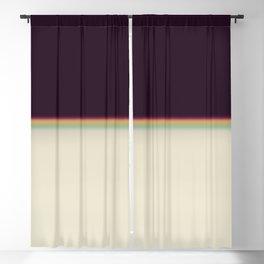 Retro rainbow#leak#light#effect Blackout Curtain