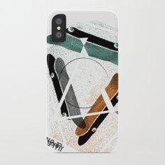 Skatestriangles Slim Case iPhone X