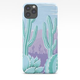 The Cool Desert iPhone Case