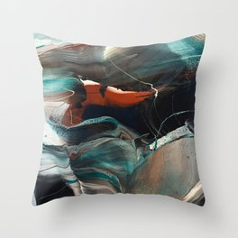 Modcon Throw Pillow