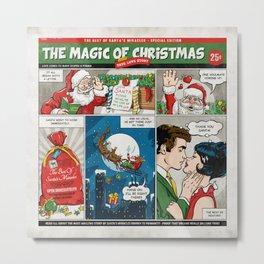 The Magic Of Christmas Metal Print
