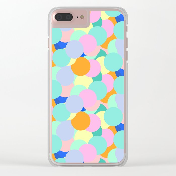 Rainbow I Clear iPhone Case