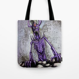 The horror of the deep Tote Bag