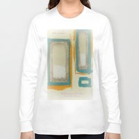 rothko Long Sleeve T-shirts featuring Soft And Bold Rothko Inspired by Corbin Henry