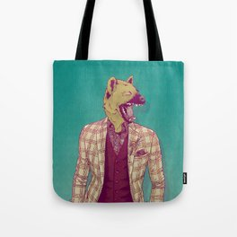 Elwood the Hyena Tote Bag