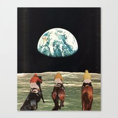 race for the prize Canvas Print