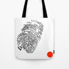 the Fingerprint Tote Bag