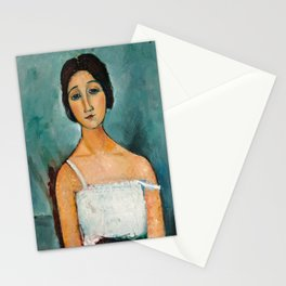 Christina by Amedeo Modigliani, 1916 Stationery Cards