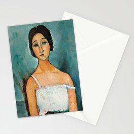 Christina by Amedeo Modigliani, 1916 Stationery Cards