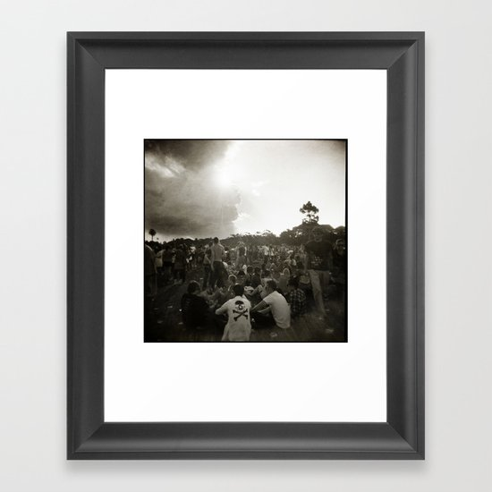 { festival } Framed Art Print