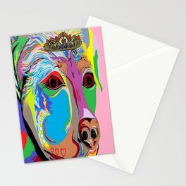 Lady Rottweiler Stationery Cards
