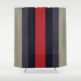 High Fashion Designer Style Stripes Shower Curtain