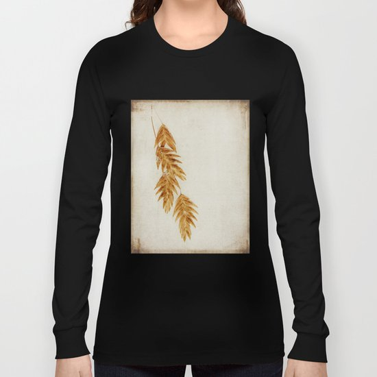 with snowflakes Long Sleeve T-shirt