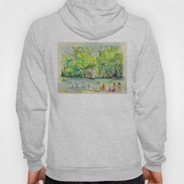 Krause Springs - historic Texas natural springs swimming hole Hoody