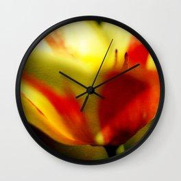 Mezzo Tulip Wall Clock