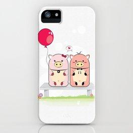 Piggie Couple iPhone Case