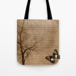 The Butterfly II Tote Bag