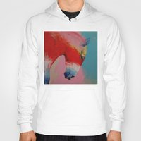 horse Hoodies featuring Horse by Michael Creese