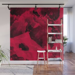 Watercolor abstract art Wall Mural