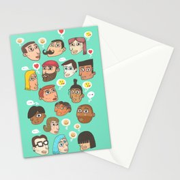 emoji talk Stationery Cards