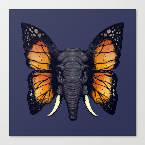 Elepfly Canvas Print
