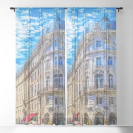 Streets of Vienna Sheer Curtain