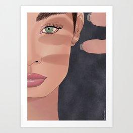 No Shade Art Print