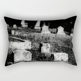 4x5 black and white film photogaph. limited edits. no flters. Rectangular Pillow