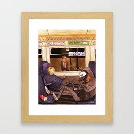 The Last Train Home Framed Art Print