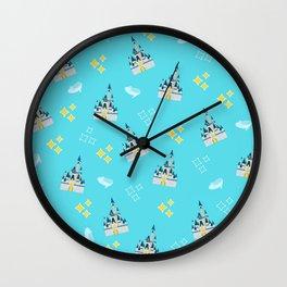 Royal Glass Slippers Wall Clock