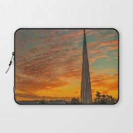 Nature Sculpture & Sunset Laptop Sleeve