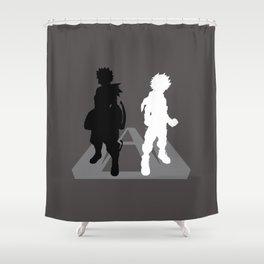 Hero Rivals Shower Curtain