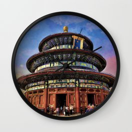 Temple of Heaven - Beijing China Wall Clock