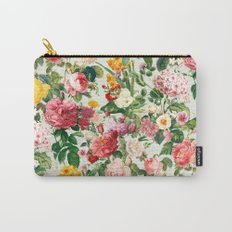 Floral A Carry-All Pouch