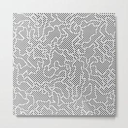 Fantasy pattern. Pop-art #2 Metal Print