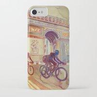 tour de france iPhone & iPod Cases featuring Tour de France by takmaj