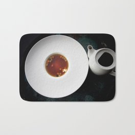 The Art of Food Gold Leaf Beef Tea Bath Mat