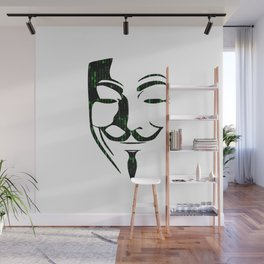 Anonymous Wall Mural