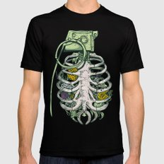 Grenade Garden X-LARGE Mens Fitted Tee Black