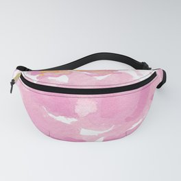 The Peony drawing flower, Hand-drawn Peony isolated Fanny Pack
