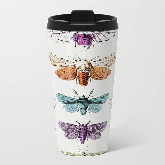 Techno-Moth Collection Metal Travel Mug