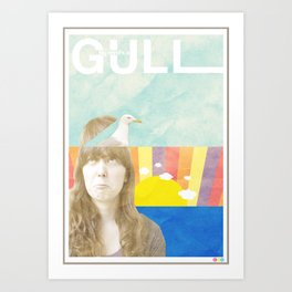 My Mind's a Gull Art Print