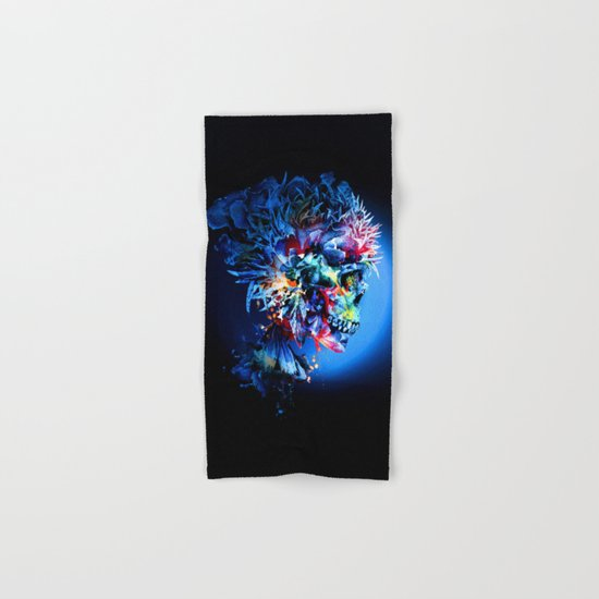 Skull Hand & Bath Towel