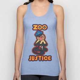 zoo justice Unisex Tank Top
