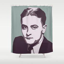 F. Scott Fitzgerald Shower Curtain