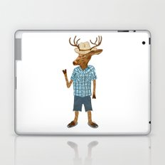Country deer Laptop & iPad Skin