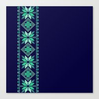 nordic Canvas Prints featuring NORDIC by Oksana Smith