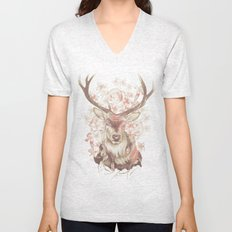 Stag of my Dreams Unisex V-Neck